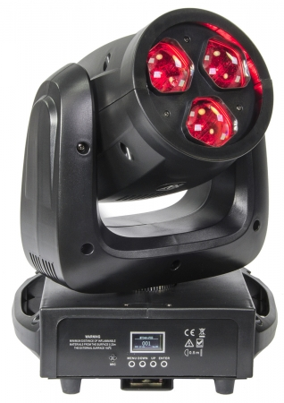 "AFX Light ""MY340-FXZ"" LED Moving Head Wash/Beam/Zoom/Rotation mit 3 X 40W RGBW LEDs"