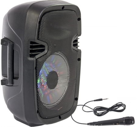 "PARTY Mobiles Soundsystem ""Party-7LED"" mit Mikro, USB, Bluetooth & Radio"