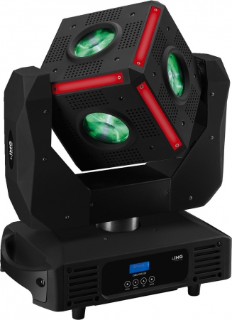 "IMG Stage Line ""CUBE-630/LED"" Beam Moving Head Würfel"