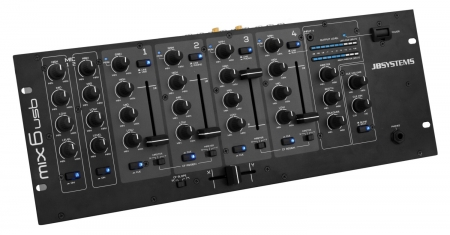 "JB Systems ""MIX 6 USB"" 6-Kanal Mixer"