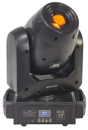 "AFX Light ""MY60-SPOT"" Moving Head mit 60 Watt LED & Prisma"