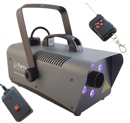 "PARTY LED Funk Nebelmaschine ""PARTY-FOG1200LED"" mit 1200 Watt"