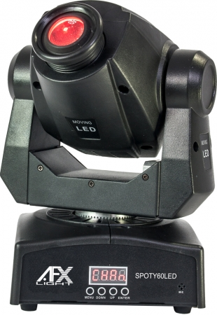 "AFX Light ""SPOTY60LED"" Moving Head Spot mit 60 Watt LED"