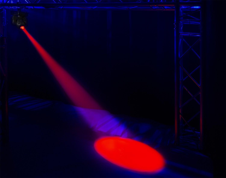 """BeamZ /""""Panther 70/"""" Moving Head Spot mit 70 Watt LED und IR-Fernbedienung"""
