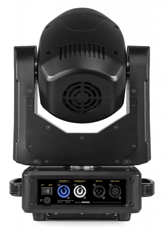 "BUNDLE: 2x BeamZPro ""IGNITE120"" Moving Head mit 120 Watt LED & Flightcase"