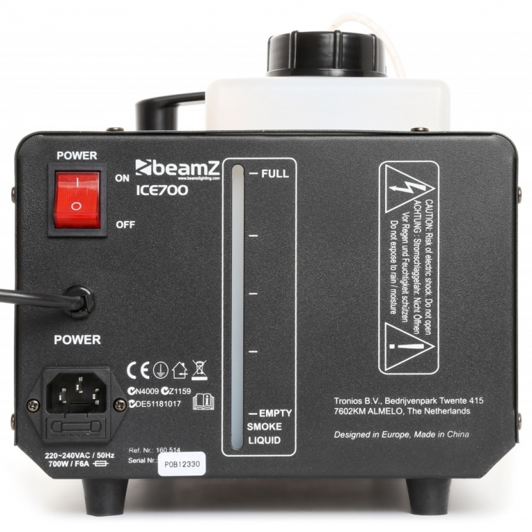 "BeamZ ""ICE700"" Bodennebel Maschine mit 700 Watt"