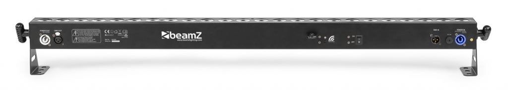 "BeamZ ""BBB243"" Akku LED Bar mit 24x 3 Watt RGB & Wireless DMX"