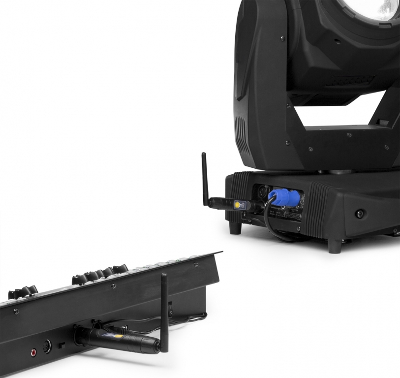 "BeamZ ""BBP"" Wireless DMX Set: 2x Sender/Empfänger"