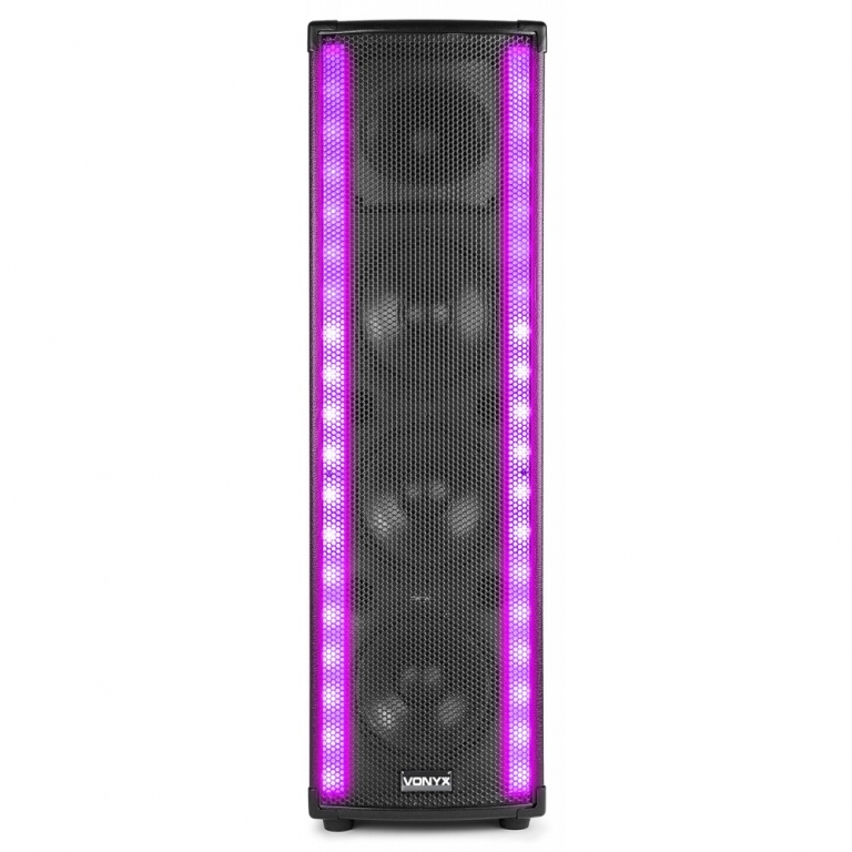 "VONYX LM65 ""LightMotion"" Aktiv Lautsprecher mit USB/SD & Bluetooth"