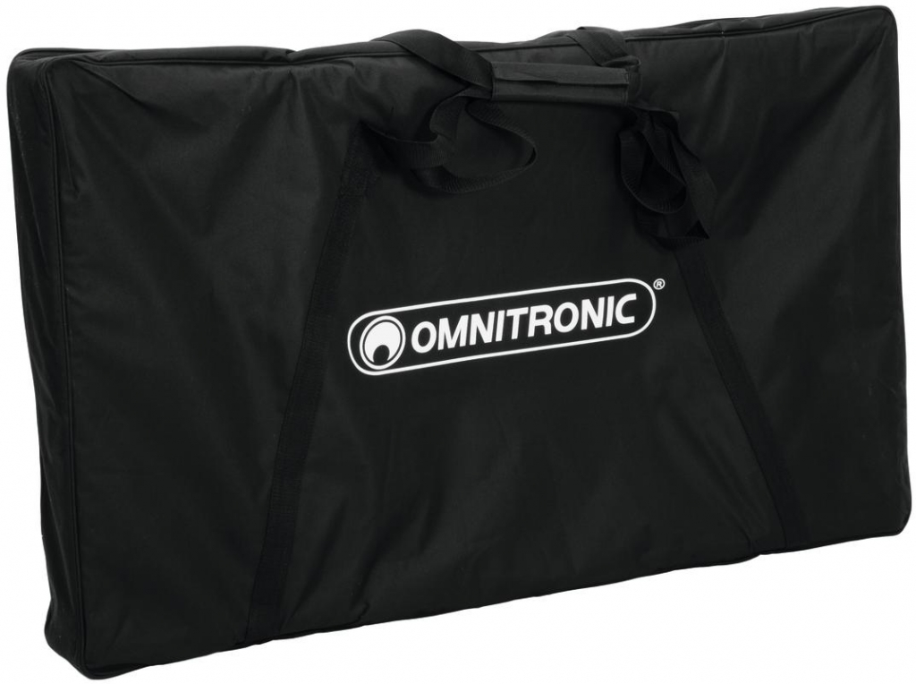 "OMNITRONIC ""Mobile DJ Stand XL"" + ""DJ Booth Cover"" Komplett Bundle"