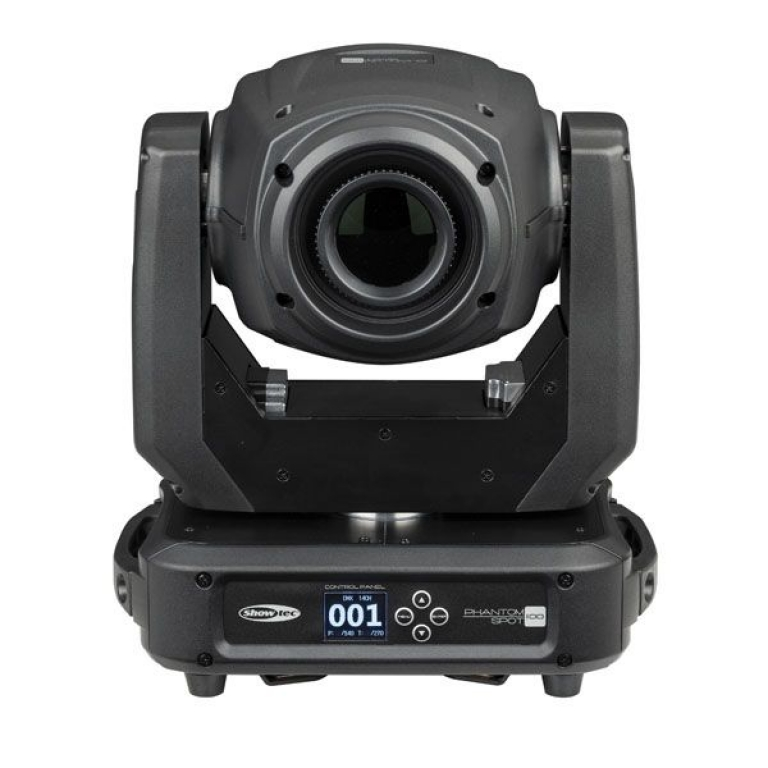"SHOWTEC ""Phantom 100 Spot"" 100 Watt LED Moving Head Spot"