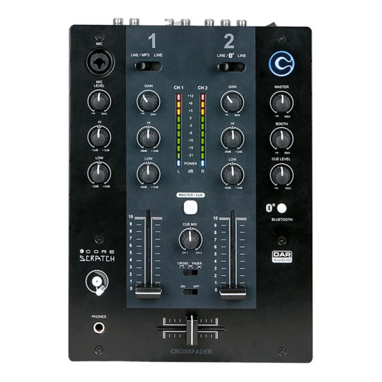"DAP Audio ""CORE Scratch"" 2-Kanal DJ-Mixer"