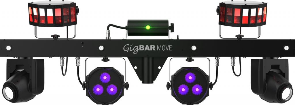 "CHAUVET DJ ""GigBAR Move"" Komplette Lichtanlage mit Moving Heads"