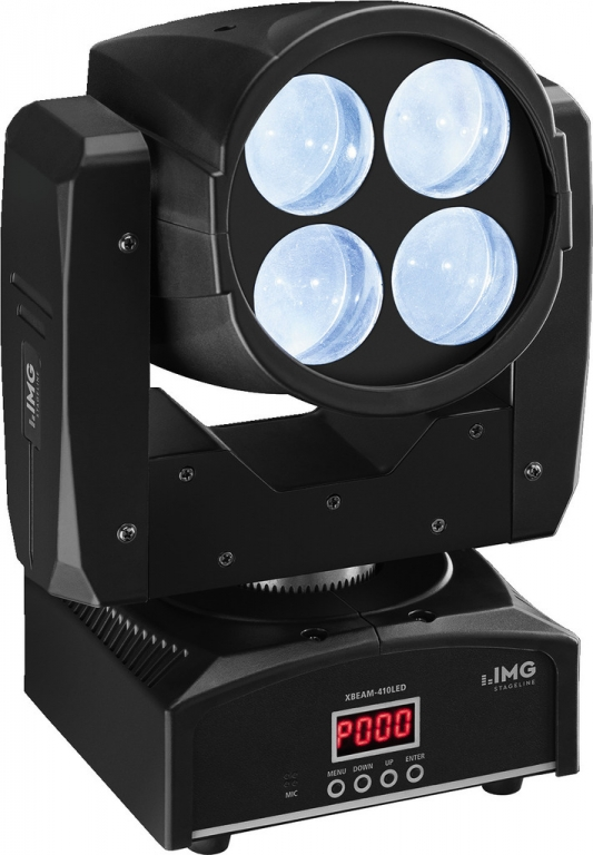 "IMG Stage Line ""XBEAM410LED"" Beam / Flower Moving Head"