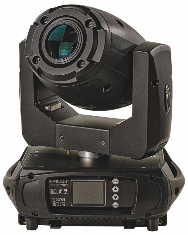 "INVOLIGHT ""Liberty 50S"" Akku LED Moving Head Spot mit Wireless DMX, 50W"