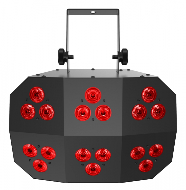 "CHAUVET DJ ""Wash FX 2"" Washlight mit 6 Zonen und 18x 6 Watt RGB+UV LEDs"