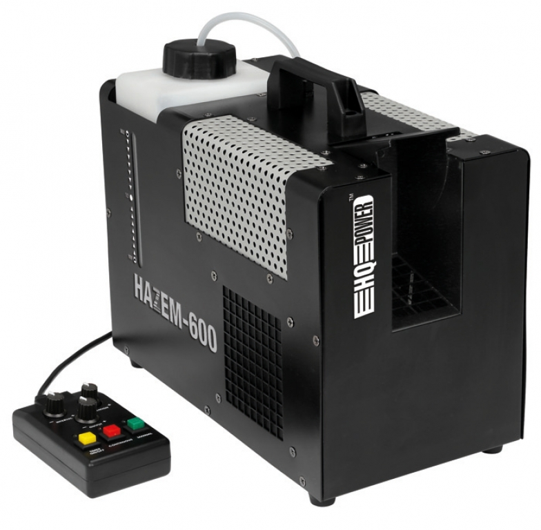 "HQ Power ""HAZEM 600"" Hazer mit Timer Remote"