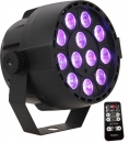 "IBIZA Light ""PAR-MINI-RGB3"" RGB Scheinwerfer mit 12x 3 Watt RGB TCL LED's"
