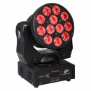 "JB SYSTEMS ""CLUBWASH 2"" 12x 12 Watt RGBWA+UV LED Wash Moving Head"