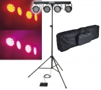 "SHOWGEAR ""VIBE FX"" Party Bar Set - Komplette LED-Lichtanlage zum Spitzenpreis"
